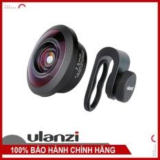 Lens cho điện thoại Ulanzi – Lens mắt cá 7.5mm cho góc siêu rộng, bẻ cong hình ảnh ở hai bên