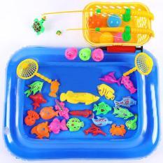 Bể phao câu cá cho bé