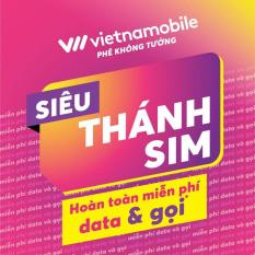 SIM 4G – Siêu Thánh sim 4G Vietnamobile – 120GB/tháng + Gọi và nhắn tin nội mạng miễn phí (Miễn phí tháng đầu)