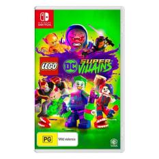 Đĩa game Nintendo Switch : Lego DC Super Villains