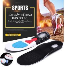 Lót giày nam cao cấp Run Sport (Đệm Sau Silicon Siêu Êm+tặng kèm nước lau giày siêu sạch)