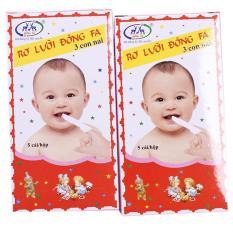 5 Hộp Rơ lưỡi Đông Fa cho bé sơ sinh