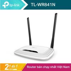 TP-Link Bộ phát wifi không dây (Thiết bị mạng) Chuẩn N 300Mbps TL-WR841N – Hãng phân phối chính thức