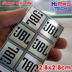 Đôi Tem loa JBL kim loại kích thước 2.8×2.8cm ( 2 tem loa )