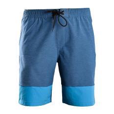 Quần short thể thao nam quần đùi thun nam polyester cao cấp Breli – BQS9012-1M-RTE1 (Xanh cổ vịt)