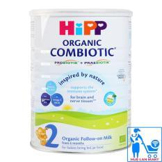 Sữa Bột HiPP Organic Combiotic 2 – Hộp 800g (Cho trẻ từ 6-12 tháng tuổi)