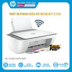 [Trả góp 0%]Máy in màu đa chức năng HP DeskJet 2720 AiO Printer,1Y WTY(online)-7FR52A – Hàng Chính Hãng