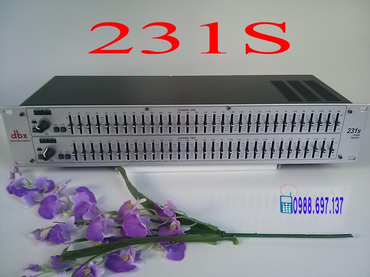 đầu lọc xì equalizer dbx 231s
