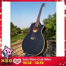 Bộ Đàn Guitar Acoustic VAKTN1600 + bao da 3 lớp + 2 picks Alice