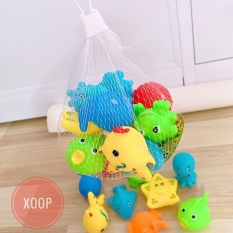 Sét 10 Con Thú Thả Chậu Tắm Cho Bé (SP001802 ) Shop Yến Shop Kidss