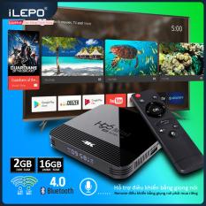 Android TV BOX Phiên Bản Ram 2G Tích Hợp Chức Năng Tìm Kiếm Giọng Nói Ứng Dụng Xem Phim Lẻ Phim Bộ Có Thể Tải Thêm Trên Play Store – Tối Ưu Trên HDMI (chưa bao gồm remote giọng nói) Bảo Hành 1 Năm