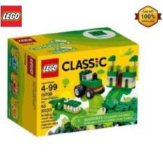 Mô Hình Lego Classic – Lắp Ráp Classic Màu Xanh Lá 10708 (66 Mảnh Ghép)
