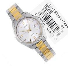 Đồng hồ nữ dây thép không gỉ Casio Anh Khuê LTP-1302SG-7AVDF