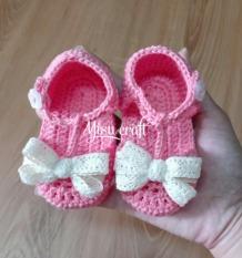 Giày len cho bé gái 0-9 tháng
