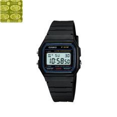 Đồng hồ nam dây nhựa Casio Anh Khuê F-91W-1DG