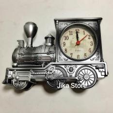 Đồng hồ tầu hỏa trang trí để bàn độc đáo Jika Store