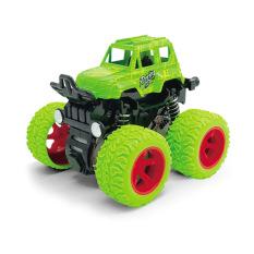 Đồ chơi xe ô tô địa hình, xe quán tính, bánh đà cho bé nhiều màu sắc, chất liệu nhựa an toàn cho bé