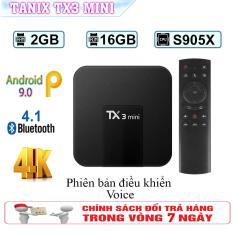 Smart Tivibox TX3 Mini – Android 9.0 – RAM 2GB- ROM 16GB – Bảo hành phần mềm trọn đời