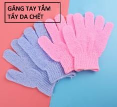 Găng tay tắm tẩy tế bào da chết Bath Glove mát xa cơ thể chà lưng chân tay tiện lợi cao cấp Nylon Body wash massage