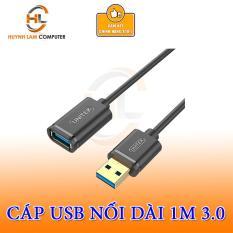 Cáp USB Nối Dài 3.0 UNITEK Dài 1m Y – C457 GBK (Đen) Unitek