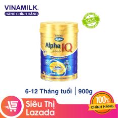 [Freeship HCM & HN] Sữa Bột Vinamilk Dielac Alpha Gold IQ Step 2 – Hộp Thiếc 900g – Dành cho bé 6-12 tháng tuổi