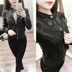 [ Dang Lan Fashion ] Áo Khoác da Nữ Chất Liệu Da Bóng Sành Điệu , Cá Tính Cho cô gái Thời thượng.