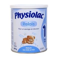 Sữa physiolac số 1 lọ 400g của Pháp sữa mát tăng cân phát triển toàn diện hạn 7/2021 ( xả kho hàng chính hãng)