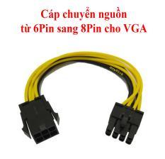 Cáp Chuyển Nguồn Từ 6Pin Sang 8Pin Cho VGA