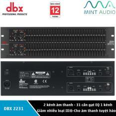 Lọc tiếng cao cấp Equalizer DBX2231 – Lọc xì & Lọc âm Karaoke