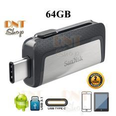 [HCM]USB OTG SanDisk Ultra Dual Type-C 3.1 64GB 150MB/s (SDDDC2-064G-A46)