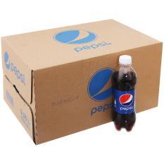Thùng Pepsi Cola chai nhựa 390ml (24 chai)