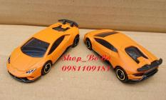 Xe mô hình Tomica – Xe Lambor Huracan màu cam