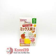 TRÀ HOA QUẢ WAKODO MIX 3 VỊ CHO BÉ TỪ 5 THÁNG – Hàng Nội Địa Nhật, có tác dụng giải khát và bổ sung vitamin và khoáng chất cho bé. Date tháng 09/2021