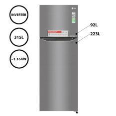 Tủ Lạnh LG 315 Lít GN-L315PS (Xám)