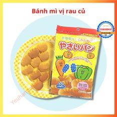 [HCM]Bánh mì tươi Canet vị rau củ cho bé ăn dặm Nhật bản [Gemie Store]
