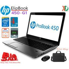 Laptop HP Elipbook 450G1, Core i5-4200M, 4gb Ram, 128gb SSD, 15.6inch HD, tặng túi, chuột không dây