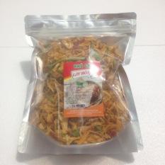 500gr Khô gà lá chanh cay mềm Lày Hòa (1 bịch ziper 500g) chế biến từ những nguyên liệu tươi mới, đảm bảo vệ sinh an toàn thực phẩm