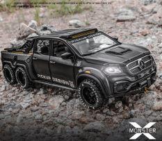Xe mô hình kim loại Mercedes-Benz X-Class 6X6 Tỷ lệ 1:28
