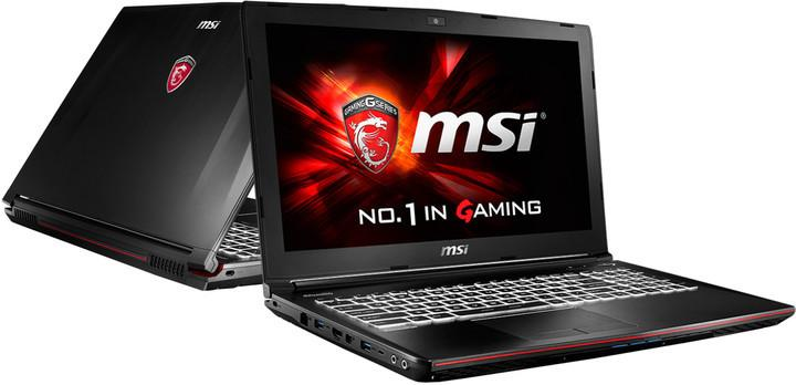 KHỦNG LONG GAME MSI GE72 6QC Core i7-6700HQ/ 8GB/ SSD 128 + 500G/ VGA GTX960M/ 17.3 inch Full HD 1920*1080...