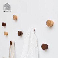 Móc gỗ treo đồ gắn tường hình nón – treo quần áo mũ nón, đa năng và tiện dụng – Wooden Hook – Pyramid