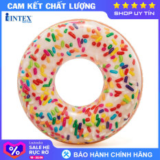 Phao tròn bánh quy 114cm INTEX 56263 – Phao bơi cho bé, Phao bơi trẻ em, người lớn