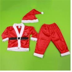 Bộ quần áo Noel chất nhung đẹp – Tặng kèm mũ nhung