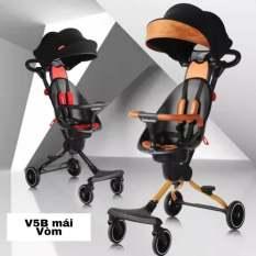 Xe đẩy đi bộ 2 chiều V5 và V5B cho bé đi chơi