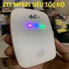 Bộ phát sóng wifi 4G từ sim- Cục phát wifi mini cầm tay -Phát wifi 4G LTE tốc độ cực cao 150 Mbps- Bộ phát wifi MF925 Hàng cao cấp