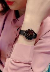 Đồng hồ nữ Julius Hàn Quốc ngọc trai đen JA-426LE chống nước