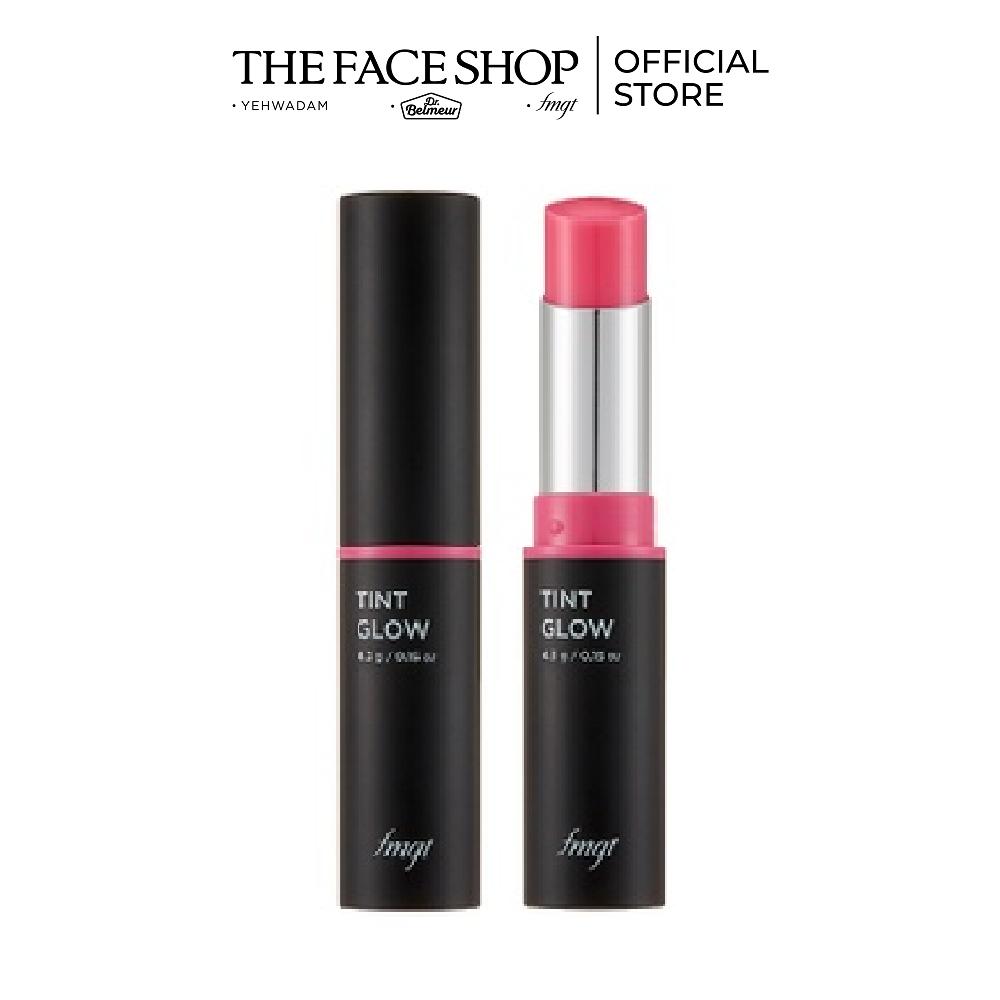 Son Môi Dưỡng Ẩm Tự Nhiên TheFaceShop Tint Glow 02 Cherry Blossom 4.3g