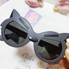 Kính thời trang siêu nhân hoạt hình mèo cho bé, kính mắt chống nắng, chống bụi 6 màu dễ thương, mã 1591