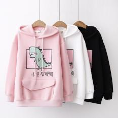 Áo khoác hoodie Hevi thời trang nam nữ Khủng Long cute (nhiều màu)