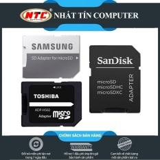 [Nhập ELJUN21 giảm 10%] Adapter MicroSD to SD thương hiệu Samsung Toshiba Sandisk chính hãng tốc độ chuẩn (3 Hãng tùy chọn) – Nhất Tín Computer