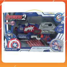 Đồ Chơi Noel – Phóng Thanh Xốp Đội Trưởng Mỹ – Đồ Chơi Trẻ Em Toy Mart